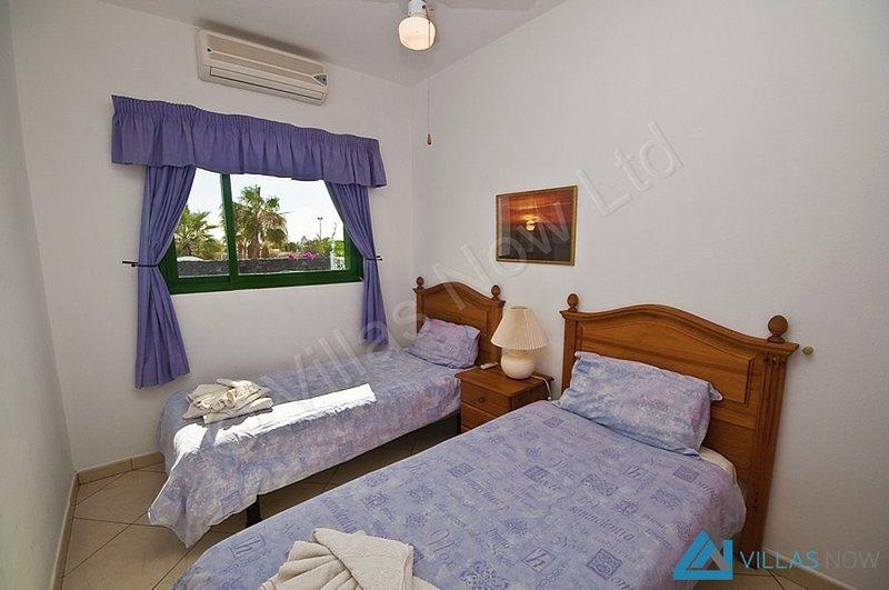 Casa Flamingo 1St Twin Bedroom