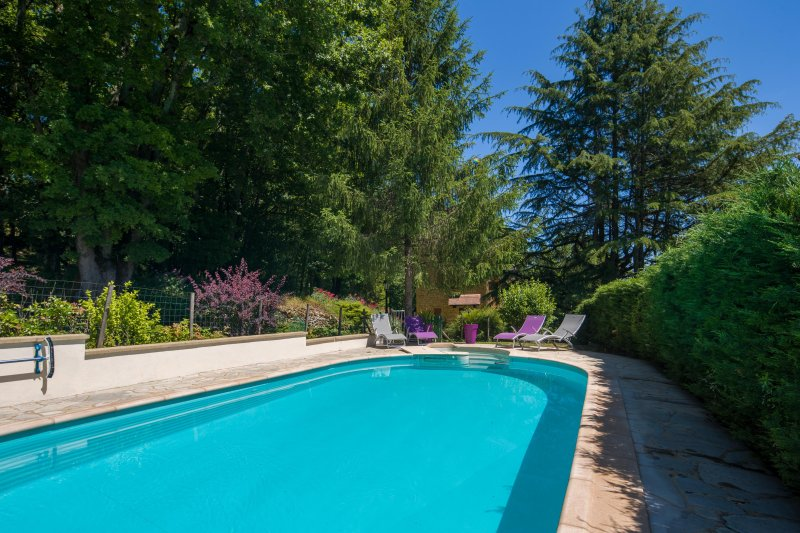Beautiful Le Coutal - Dordogne (Pool, Garden, Balcony, 1 acre land), vacation rental in Castels