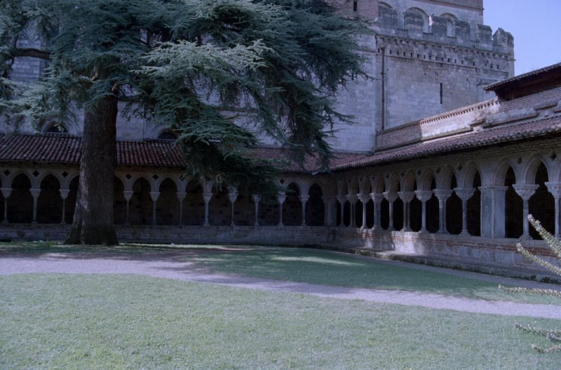 The cloister at Moissac