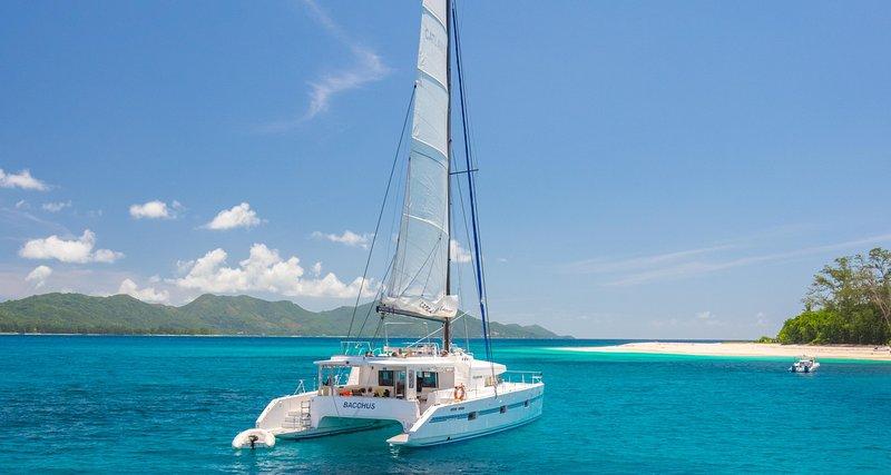 Catlante 600 Sailing Catamaran charter with crew / cabin-cruise, vacation rental in Eden Island