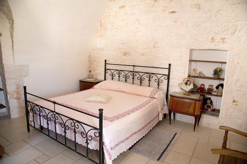 Camera da letto nella cummersa