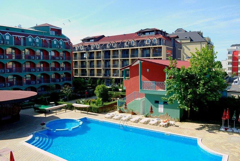 Jasmine Club Apartment, Sunny Beach, casa vacanza a Sunny Beach