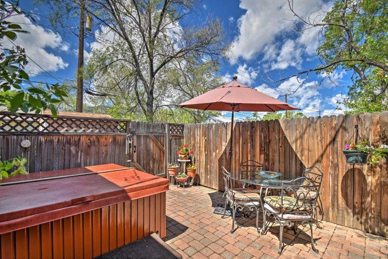 Planifiez votre prochaine escapade ce Colorado Springs location vacances bungalow!
