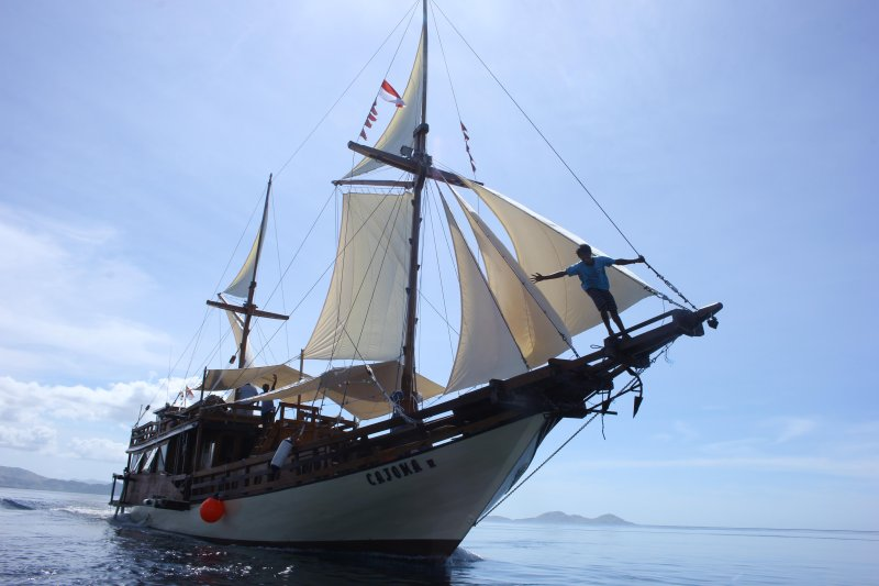MV Cajoma III Phinisi, holiday rental in East Nusa Tenggara