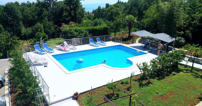 Cataleya Apartment ***** Garden Residence Opatija, holiday rental in Opatija