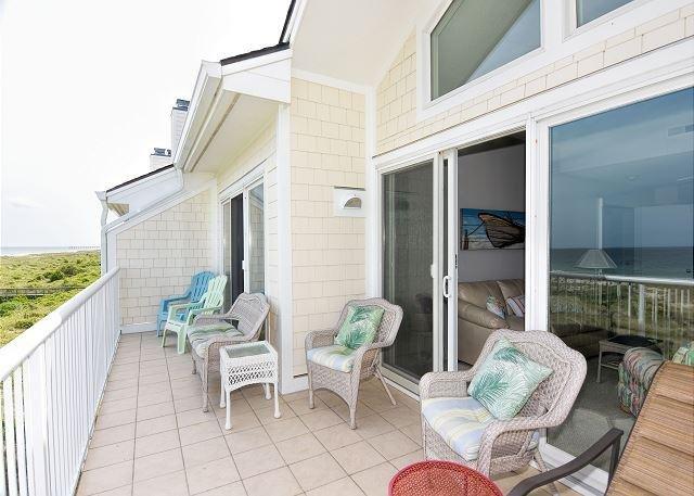 Wrightsville Dunes 3B-D Oceanfront Balcony