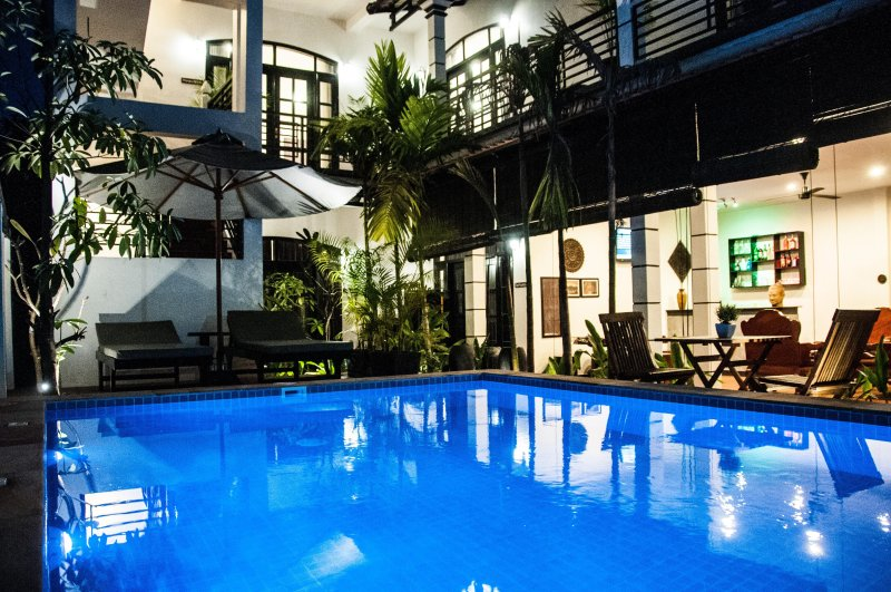 The Fin Inn, Entire Private Villa with Pool, Ferienwohnung in Siem Reap