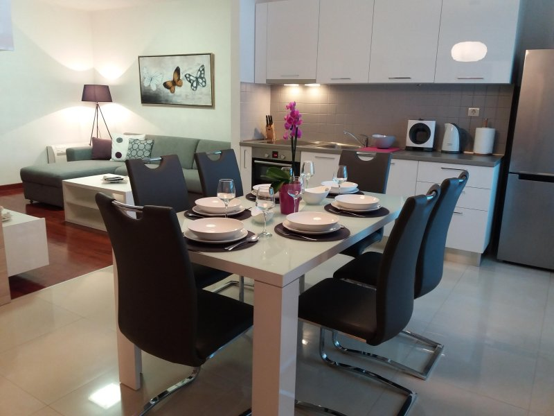 Open space - dining room/ Kitchen