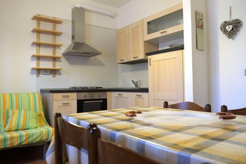 Appartamento  (100mt dalla spiaggia con aria condizionata), holiday rental in Rimini