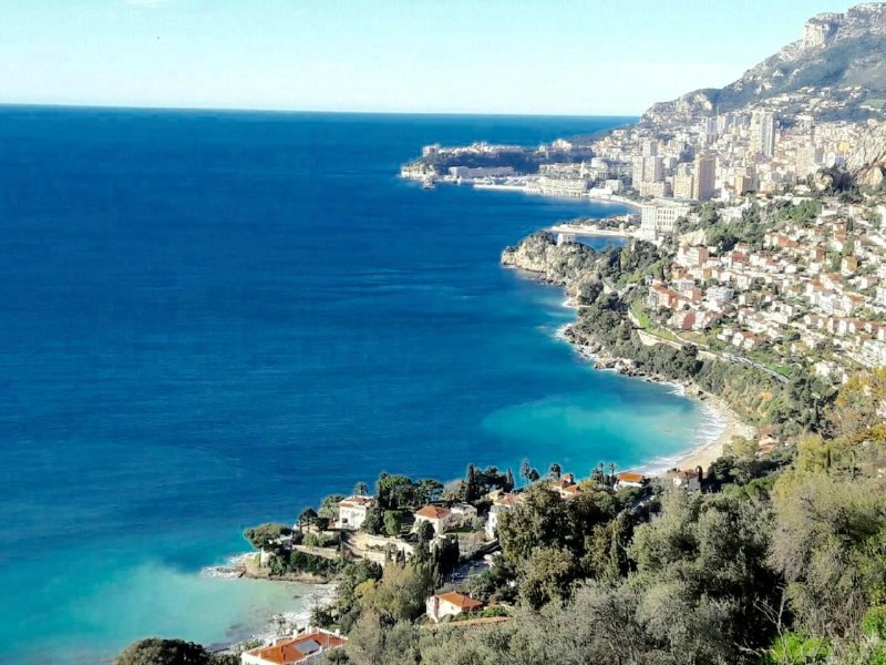 Exceptional site! View of the apartment on Monaco, the beaches ...
