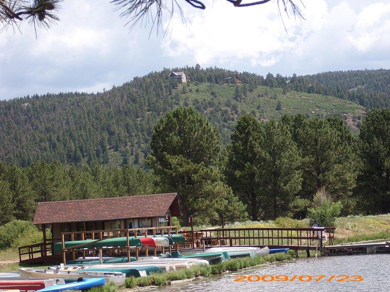 nearby resort lake