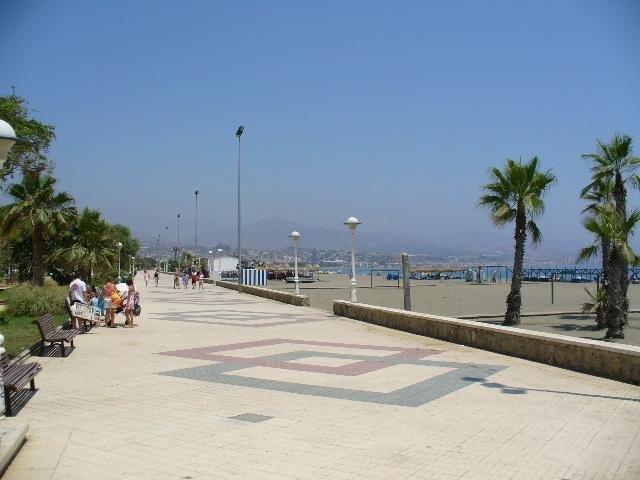 Torre Del Mar Prom. Walk or rent a bike to go all the way to Caleta De Velez quay.