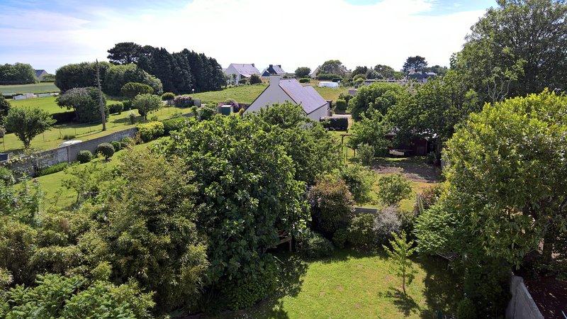 Kamers met uitzicht op de tuin