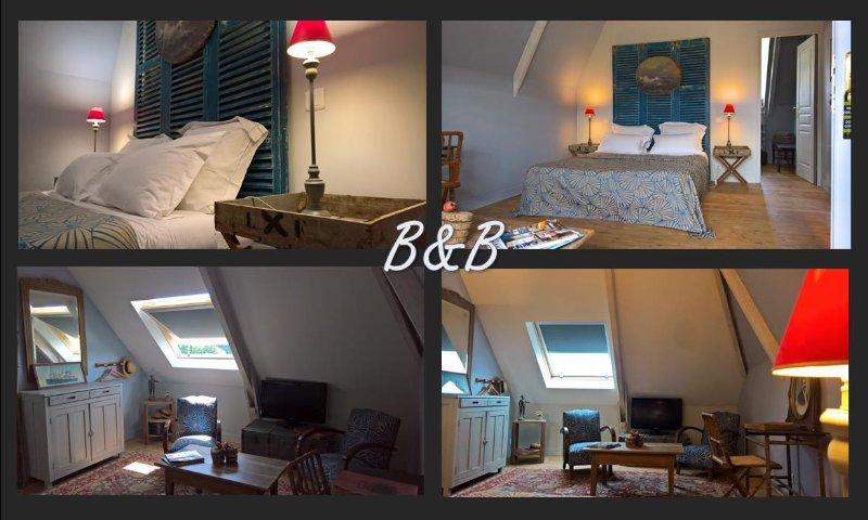Beau Rivage kamer in La Villa Bleue