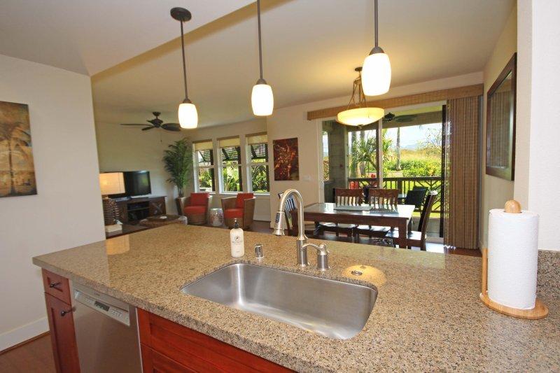 Keuken, eet- en woonkamer