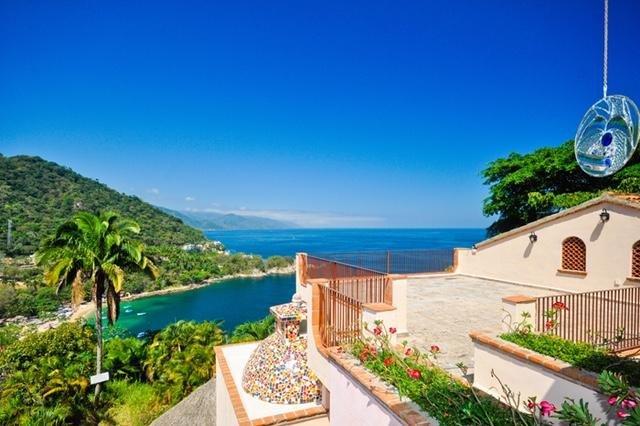 Villa Estate overlooking the Pacific Ocean, alquiler de vacaciones en Cabo Corrientes