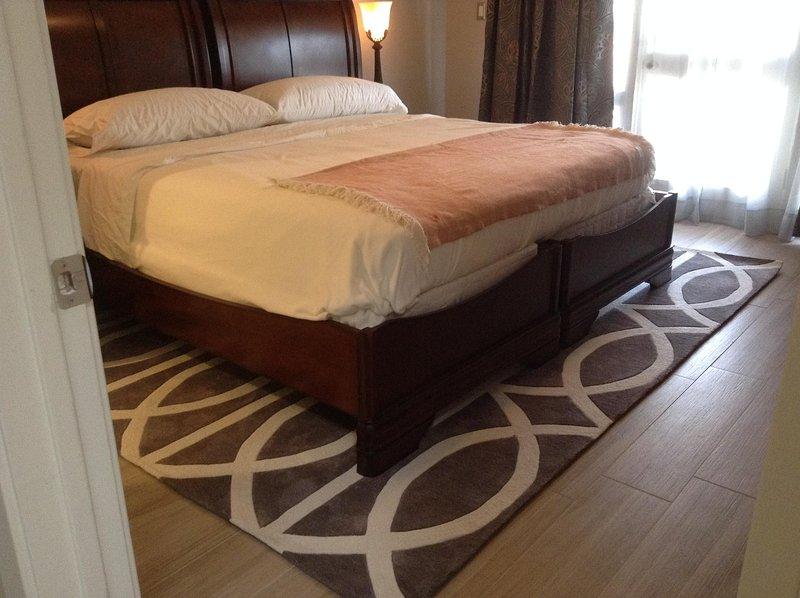 Chambre d'hôtes peut être un lit king ou deux lits jumeaux