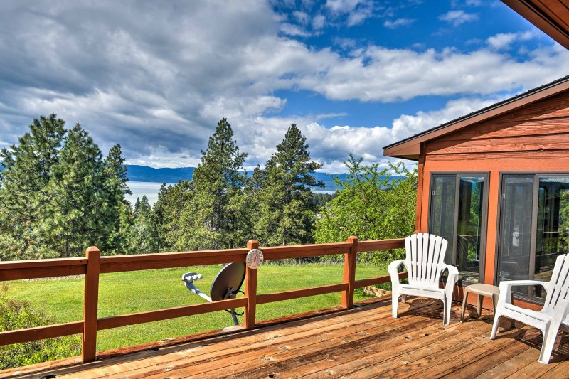 Your Montana adventure begins when you book this vacation rental home.