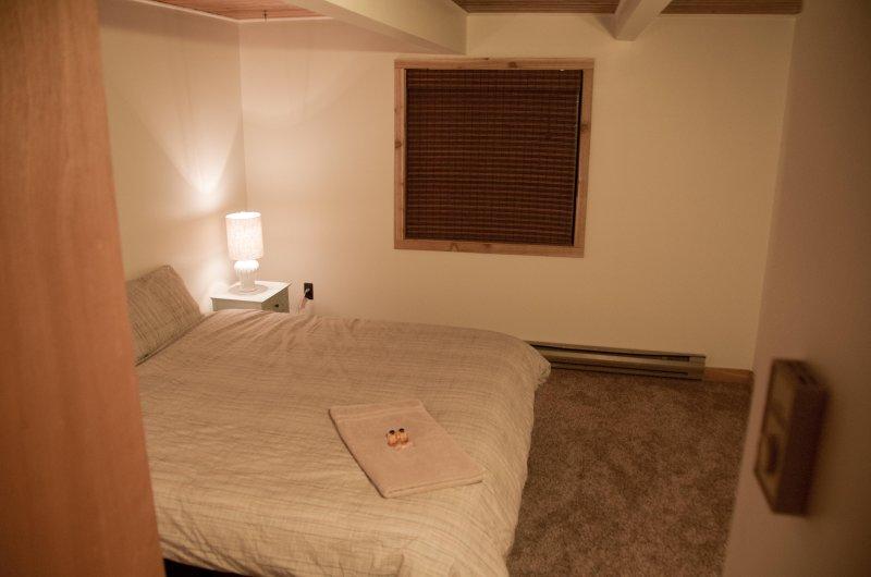 Bedroom 4 - Basement bedroom with king bed