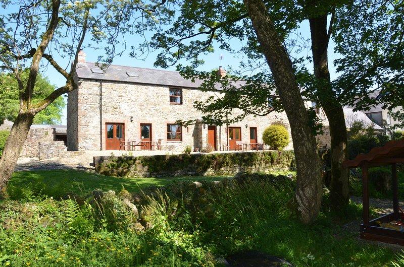 Faughan Cottage ist ideal für Paare oder Familien, die einen gemütlichen und komfortablen Platz bleiben wollen.