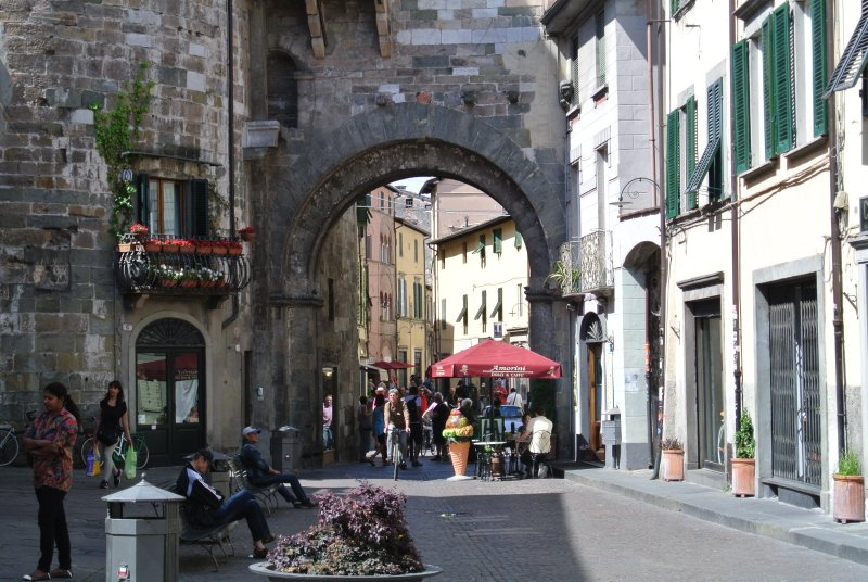 Piazza at Entry