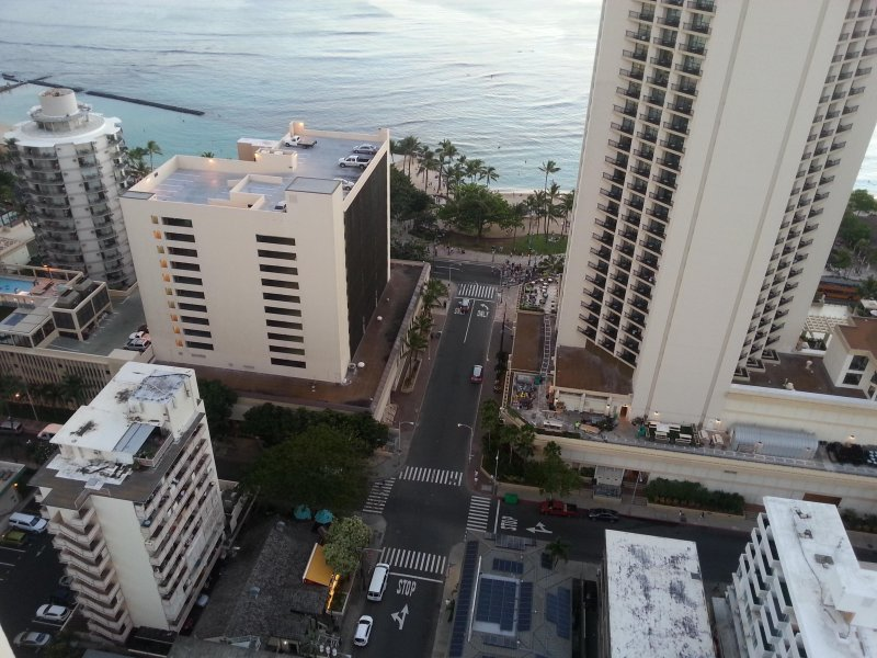 the condo is one the bottom lift  of the photo showing the proximity to the beach