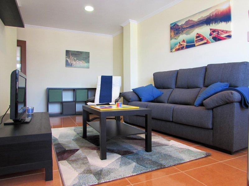 Apartamento con vistas en el centro de Fisterra – semesterbostad i Fisterra
