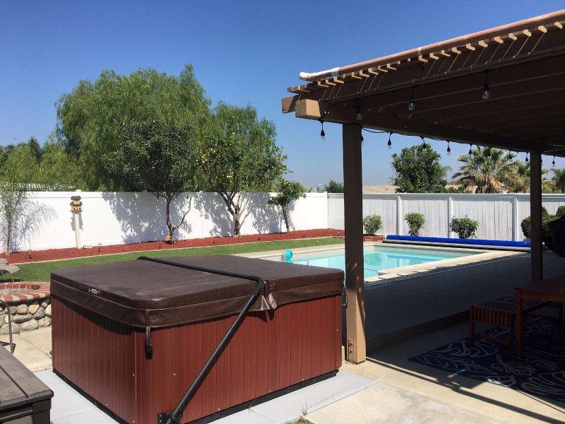 Pool, Hot Tub, Firepit