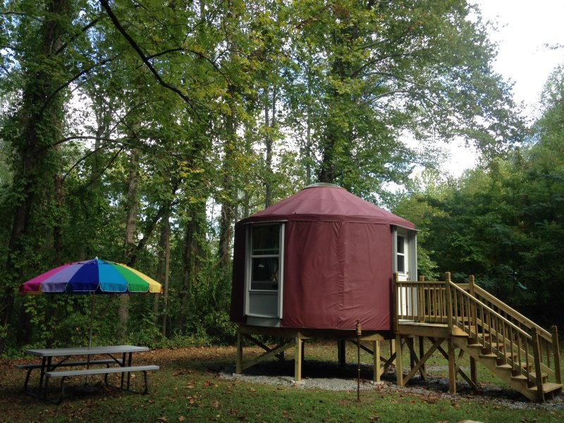 Magical Escape Into The Woods, holiday rental in Fontana Dam