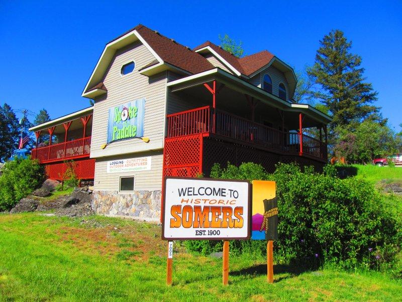 El radio y Paddle, dan la bienvenida a Somers, Montana !!