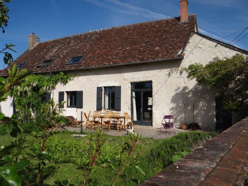 Chambre d'hôte entre Blois et Chaumont sur Loire, location de vacances à Chambon-sur-Cisse