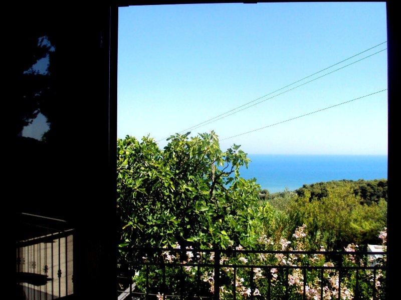 Residenza Piccolo Uliveto - Bilocale al 1° piano vista mare, holiday rental in San Menaio
