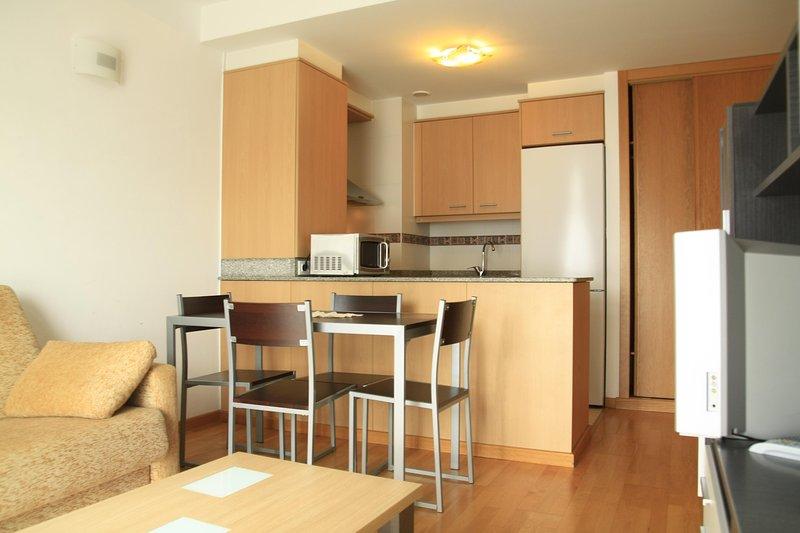 Apartamento nuevo en Cariño, alquiler vacacional en Cariño