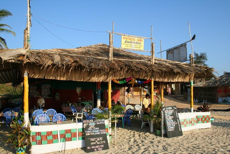 """Zumbrai"" Beach Restaurant Varca Beach"