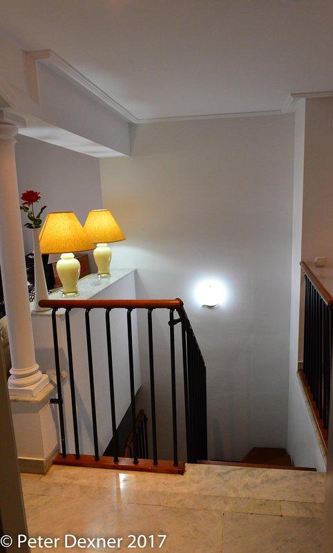 Stairway ao primeiro andar
