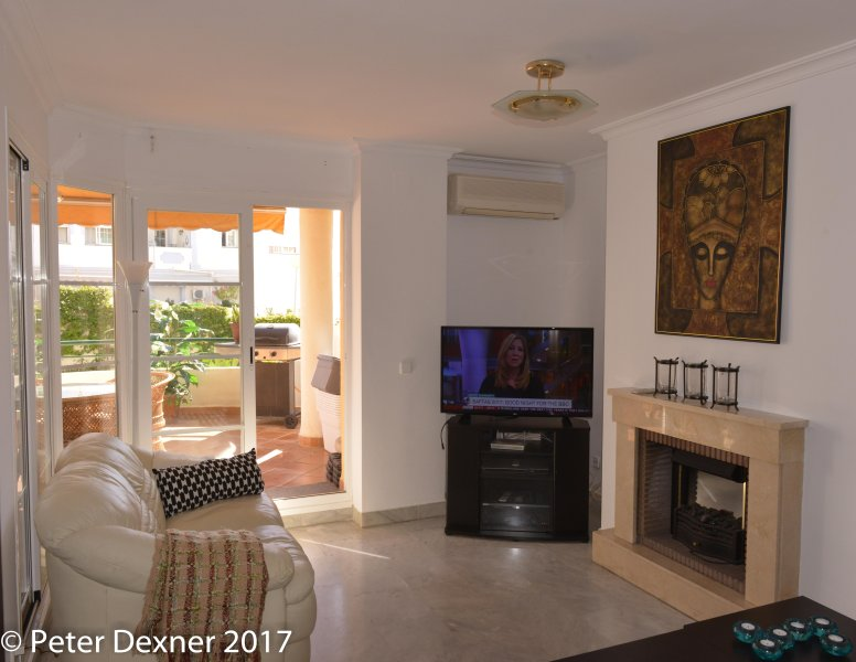 Puerto Banus Large Duplex 188 kvm, 3BE/4BA, east & west terrace Beach and Golf – semesterbostad i Puerto Banus