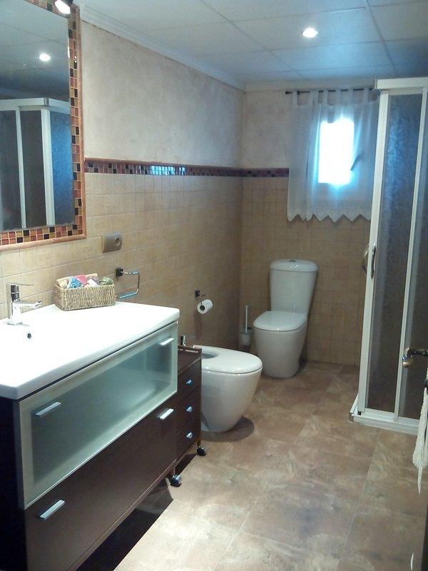 baño completo planta baja
