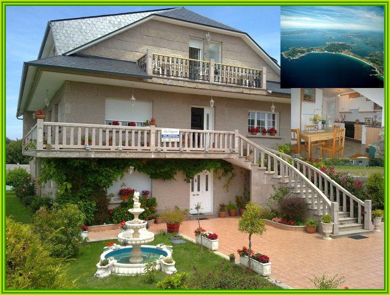 Vivienda B en la playa de la  lanzada,  sanxenxo, holiday rental in Adina