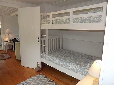 Walk Through Bedroom with Bunk Beds
