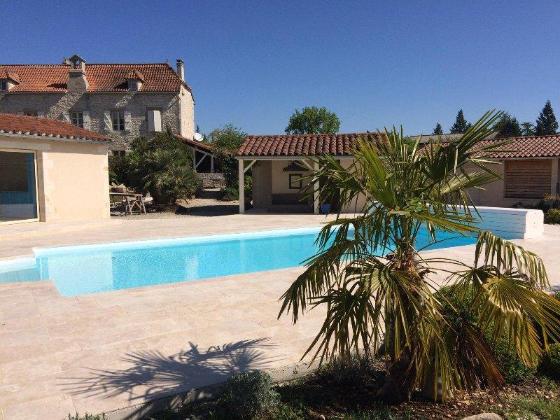 Panoramica convento e piscina