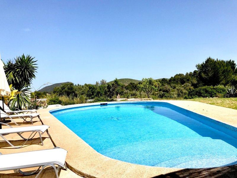 Cool swimming pool for an idyllic season