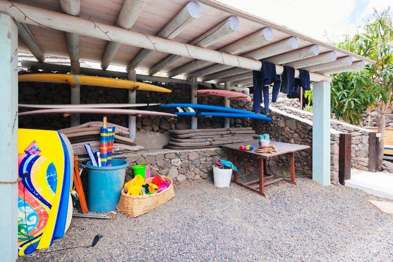 Surf et de stockage de bodyboard à Finca De Arrieta