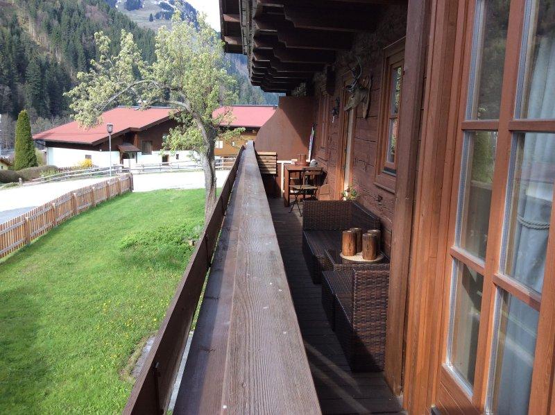 Esposizione a sud zona balcone realax