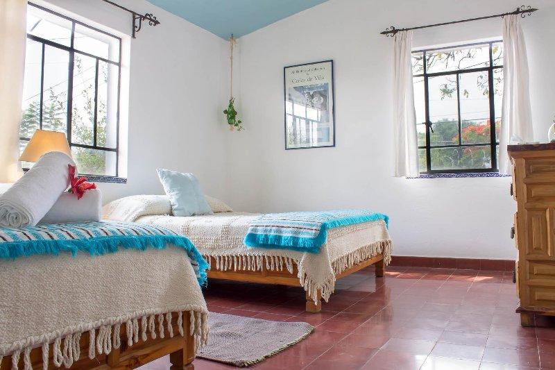 Bedroom view/ Vista de recámara.