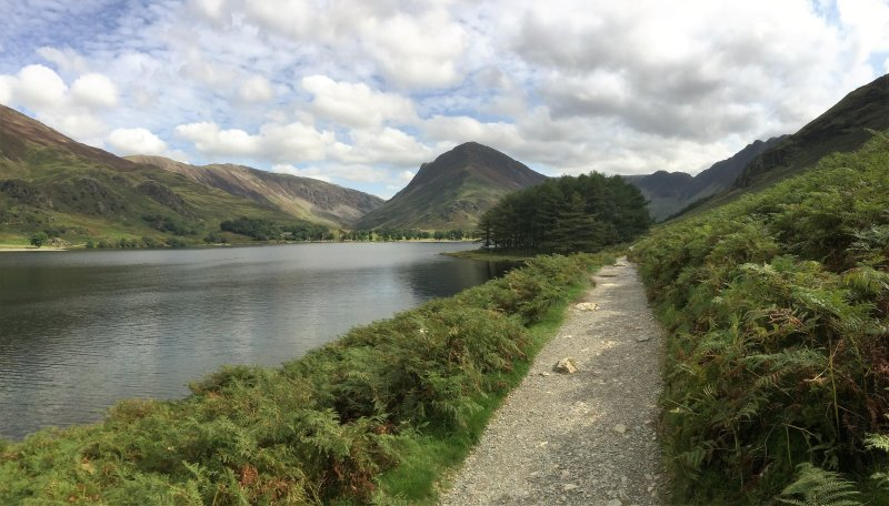 From the shore of Buttermere