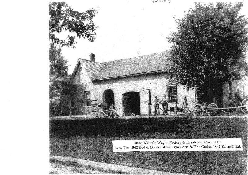 Una imagen pasada del pasado de nuestro hogar como una instalación de edificios vagón.