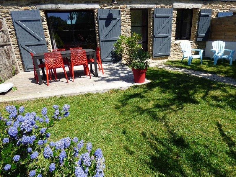 Ty Perenn, maison de charme Presqu(île de Rhuys, casa vacanza a Sarzeau