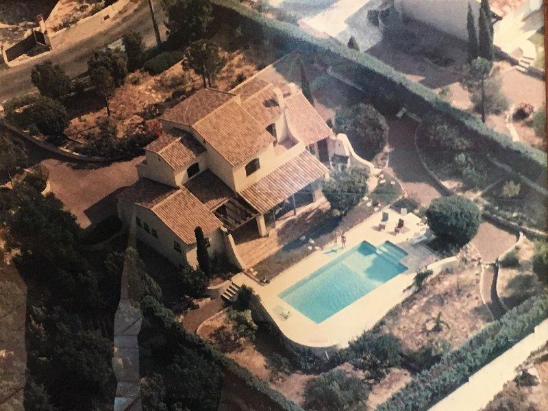Villa vespers aerial view