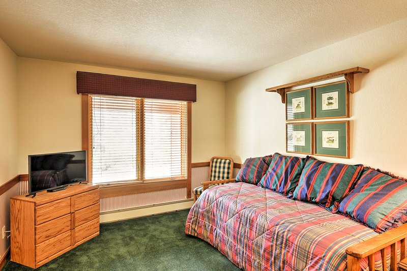 The kids will love sharing this room.