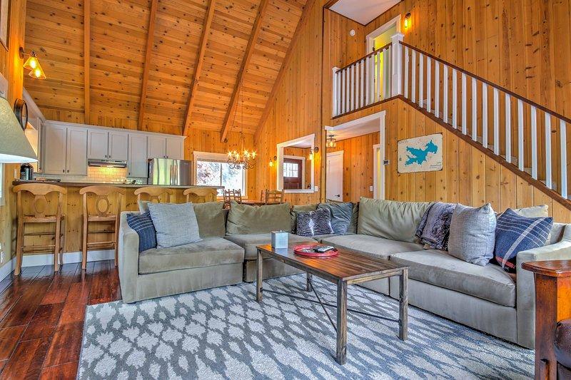 Você vai adorar a abertura do nível principal e da atmosfera da cabine.
